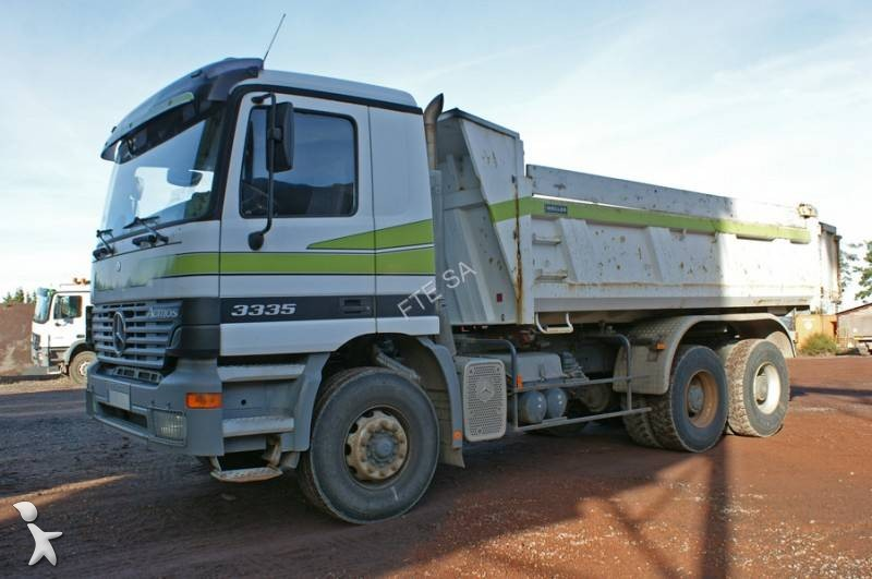 Camion mercedes benne meiller actros 3335 6x4 gazoil euro for Porte universelle benne