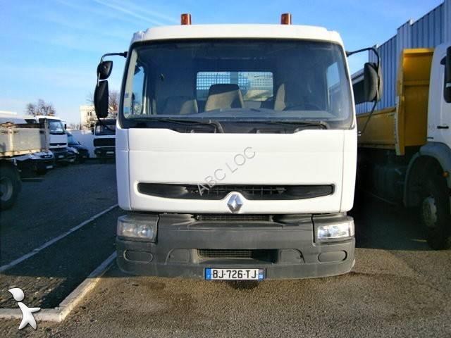 Camion renault bi benne marrel premium 270 4x2 gazoil euro for Porte universelle benne