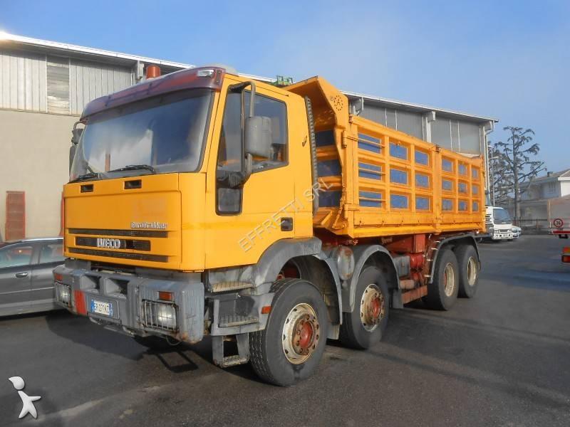 Camion iveco ribaltabile trilaterale eurotrakker 410e42 for Effretti usato