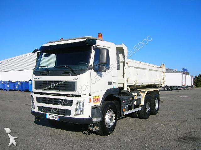 camion volvo bi benne fm9 340 6x4 gazoil euro 4 occasion n 1531713. Black Bedroom Furniture Sets. Home Design Ideas