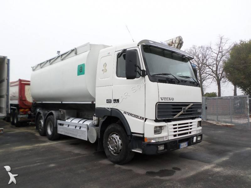 Camion volvo cisterna trasporto alimenti fh12 420 6x2 - Portata massima camion italia ...
