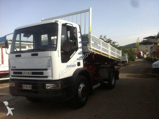 Camion iveco ribaltabile 150e18 ribaltabile trilaterale - Portata massima camion italia ...