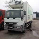 used Iveco meat transport refrigerated truck