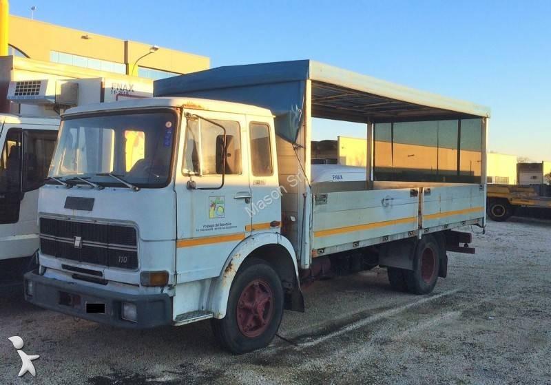 Camion fiat cassone centinato 110 nc 4x2 gasolio euro 0 - Portata massima camion italia ...