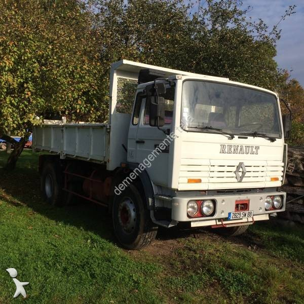 Camion benne occasion renault gamme m 210 gazoil annonce n 1554261 - Location camion dijon ...