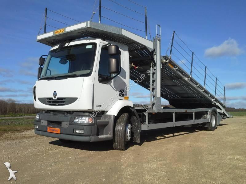 camion renault bisarca premium 300 dxi 4x2 gasolio euro 5 usato n 1560893. Black Bedroom Furniture Sets. Home Design Ideas