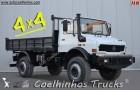 camión volquete Unimog usado