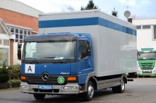used Mercedes folding wall box truck