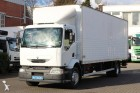 used Renault folding wall box truck