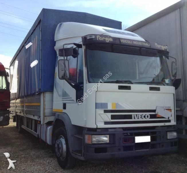 Camion iveco cassone centinato eurocargo 120e23 gasolio - Portata massima camion italia ...