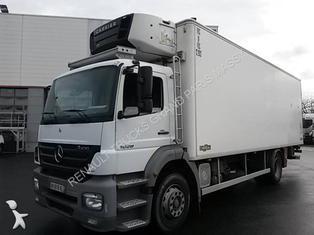 camion mercedes frigo carrier multi temp rature 1828 4x2 gazoil euro 4 hayon occasion n 1591754. Black Bedroom Furniture Sets. Home Design Ideas