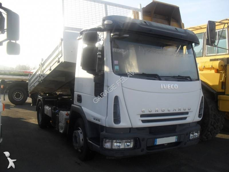 Camion iveco benne eurocargo 80e18 4x2 euro 4 occasion n for Garage iveco limoges