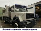 camión Magirus-Deutz Zugmaschine M170D12AK 1 mit Kran, guter Zustand