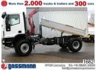 Iveco 150E28 W 4x4 Kipper mit Kran z.B. Fassi NSW truck