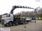 camión Volvo FH13-460 8x2 Hiab 855 E-8 HiPro Jib 145X-5