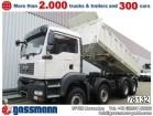 camion benă trilaterala MAN second-hand