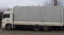 camión lona corredera (tautliner) MAN usado
