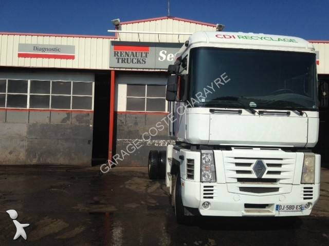 Camion renault ch ssis magnum 4x2 euro 3 occasion for Garage reignier alpes pneus