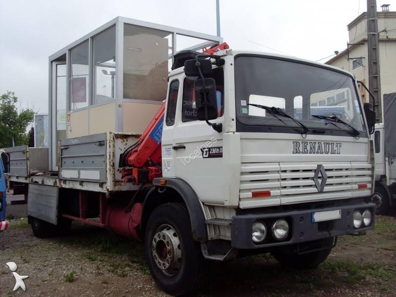Camion renault cassone fisso gamme g 230 gasolio euro 6 for Garage renault saint denis