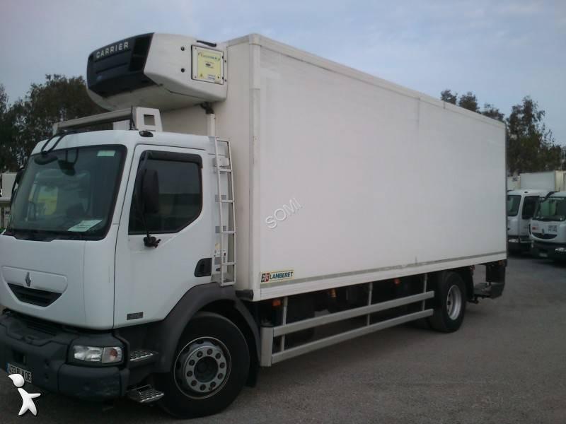 camion frigo occasion renault midlum 270 dci gazoil carrier hayon annonce n 1622265. Black Bedroom Furniture Sets. Home Design Ideas