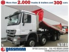 camion Mercedes Actros 4141 K/45 8x6, Bordmatik links Klima/NSW