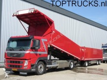 camión Volvo FM 420 EURO 5 TIPPER + WALKING FLOOR TRAILER FOU