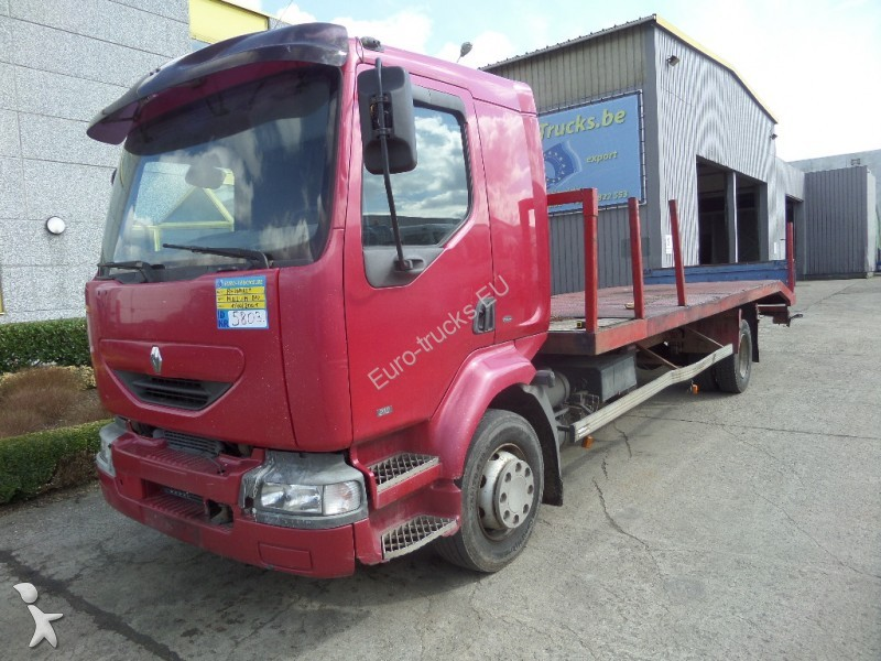camion renault porte voitures midlum 210 4x2 gazoil euro 2 occasion n 1624733. Black Bedroom Furniture Sets. Home Design Ideas