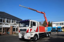 camion piattaforma aerea articolata telescopica MAN usato