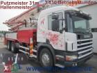 camión bomba de hormigón Scania usado