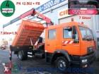 camión MAN LE 14.220*7 Sitzer*3 S.-Kipper*Kran PK12502+FB
