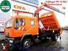 camion MAN LE 14.225*7 Sitzer*3 S.-Kipper*Kran PK12502+FB