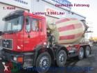 camion MAN 32.322 8x4 9m³ Liebherr Deutsches Fahrzeug1.Hand