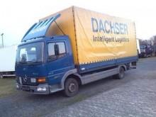camion plateau ridelles bâché Mercedes occasion