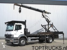 camión caja abierta Mercedes usado