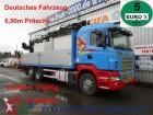 camión Scania R400 Tirre Euro 191L Kran 6,90m Pritsche 1.Hand