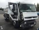camion cisterna idrocarburi Renault incidentato