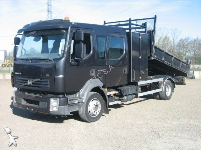 Camion volvo benne fl 290 4x2 gazoil euro 5 occasion n for Porte universelle benne