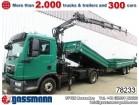 MAN TGL 12.250BL 4x2 Kipper mit Kran Atlas truck