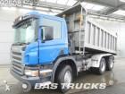 camión volquete Scania usado
