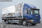 used Scania box truck