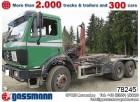 used Mercedes hook lift truck