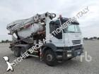 camion calcestruzzo betoniera mescolatore + pompa Iveco usato