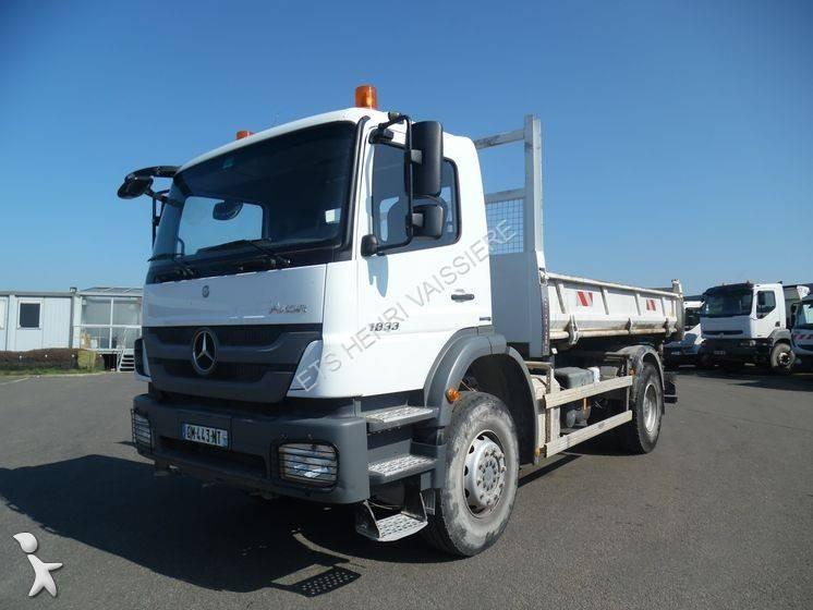 Camion mercedes bi benne marrel axor 1833 4x2 euro 5 for Porte universelle benne
