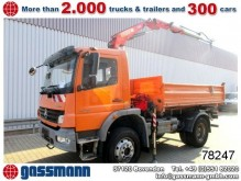 camion Mercedes Atego 1526AK 4x4 mit Fassi F80A0.22 Bj. 2012