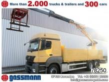 camion Mercedes Axor 2540L6x2 Pritsche mit Kran Atlas TLC 210.2