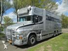 camion furgonetă transport cai Scania second-hand
