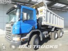 camión Scania P380 6X4 Manual Big-Axle Steelsuspension Analog-