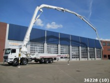 camion Mercedes Actros 4141 10x4 52 meter 5-arm boom