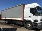 used Renault sliding tarp system truck