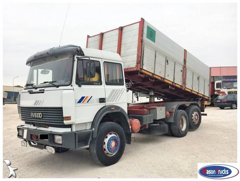 Camion iveco ribaltabile trilaterale turbostar 6x2 - Portata massima camion italia ...